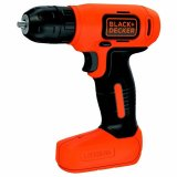 Black&Decker Trapano Avvitatore Batteria Litio 7,2 V BDCD8