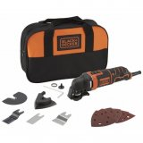 Black&Decker Utensile Multifunzione 300W Con Accessori MT300SA2