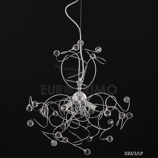 Lampadario A Sospensione In Stile Moderno Cristallo