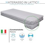 Materasso in Lattice Singolo 7 Zone Differenziate 80X190X20