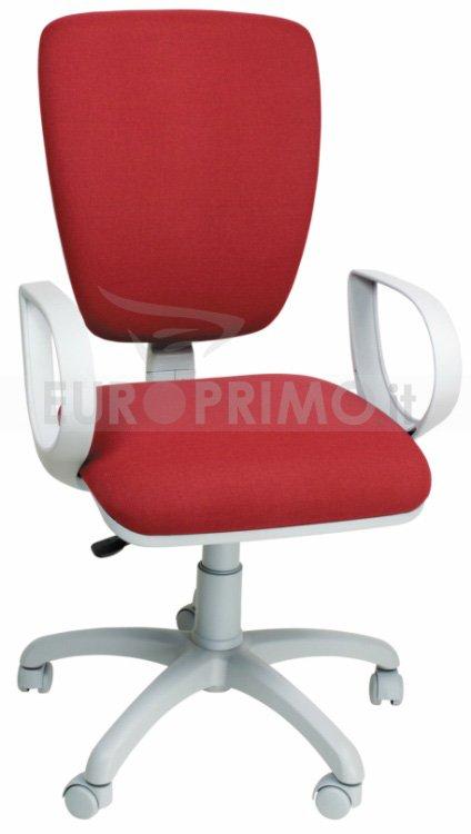 Poltrona sedia da ufficio per scrivania ecopelle o tessuto for Sedia ufficio trovaprezzi